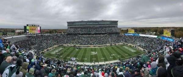 Spartan Stadium, secção: 109, fila: 24, lugar: 1