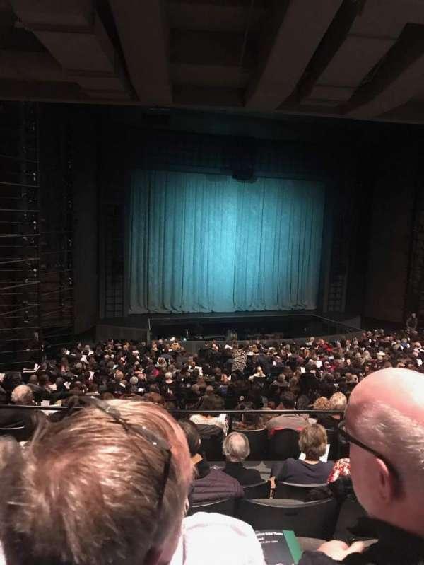 Harris Theater, secção: Orchestra Left, fila: CC, lugar: 15