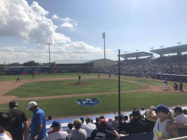 Florida Auto Exchange Stadium, secção: 209, fila: 2, lugar: 12