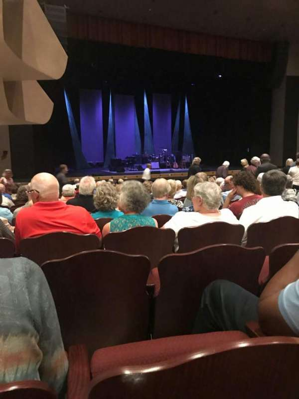 Barbara B. Mann Performing Arts Hall, secção: Orch Lft, fila: T, lugar: 19