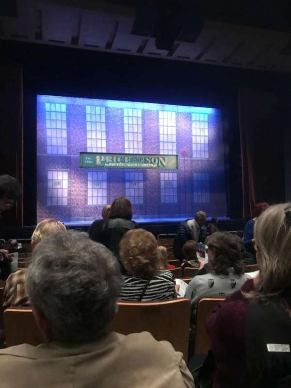 Fred Kavli Theatre, secção: Orcastra, fila: K, lugar: 37