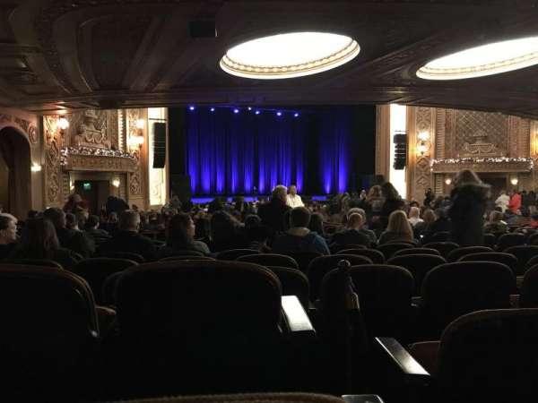Paramount Theatre (Seattle), secção: Main Floor, fila: 4E, lugar: GG