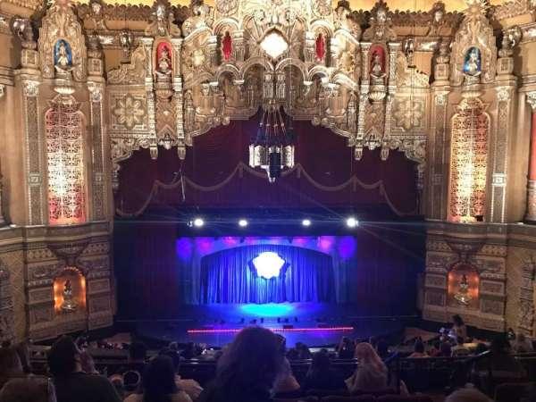 Fox Theatre (Detroit), secção: GA3, fila: G, lugar: 314