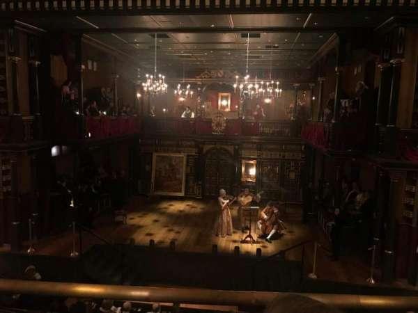 Belasco Theatre, secção: Mezzanine C, fila: B, lugar: 110