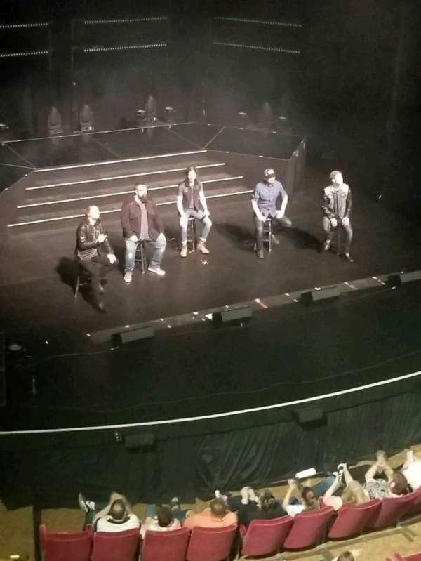 Majestic Theatre - Dallas, secção: H, fila: A, lugar: 9