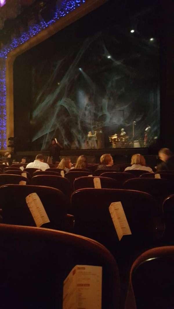 Saenger Theatre (New Orleans), secção: Orchestra Right, fila: K, lugar: 30