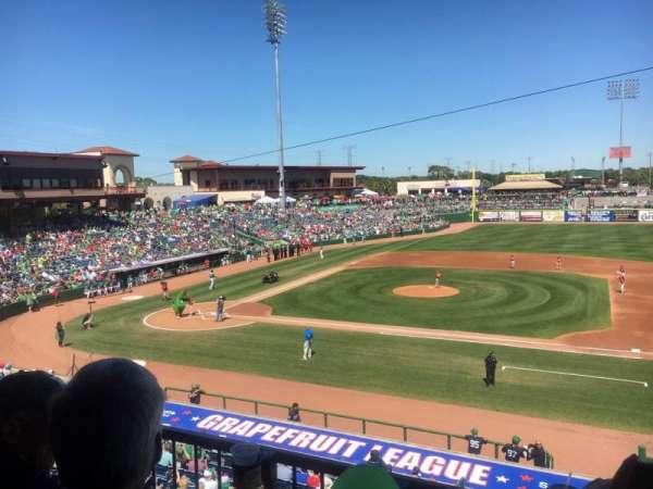 BayCare Ballpark, secção: 203, fila: 2, lugar: 8
