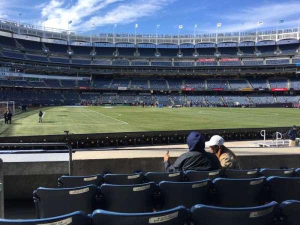 Yankee Stadium, secção: 105, fila: 5, lugar: 23
