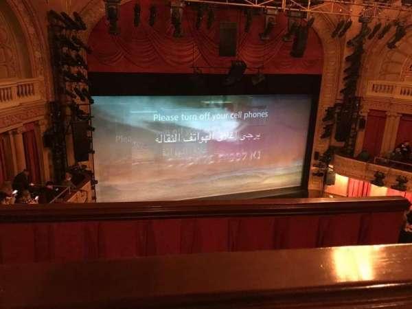 Ethel Barrymore Theatre, secção: Rear Mezzanine L, fila: A, lugar: 9