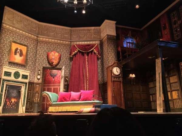 Lyceum Theatre (Broadway), secção: Orchestra C, fila: B, lugar: 105