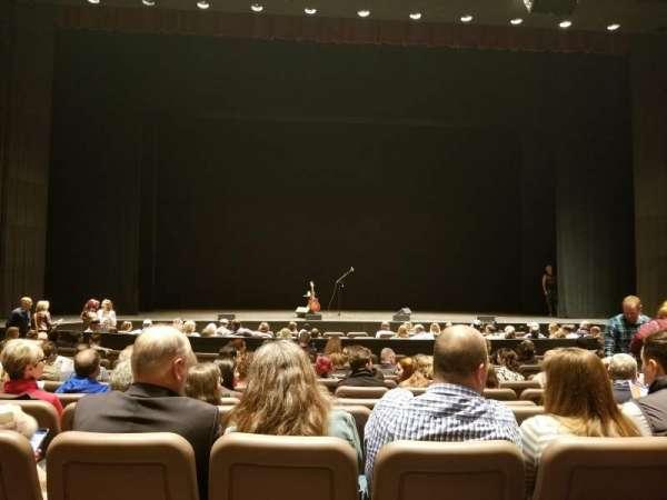 Chapman Music Hall - Tulsa Performing Arts Center, secção: OL, fila: K, lugar: 105