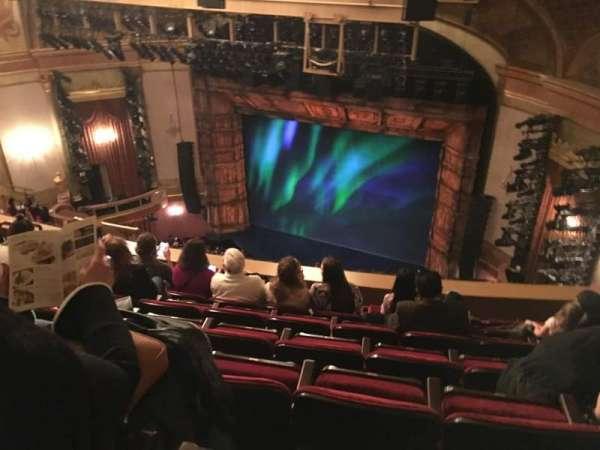 St. James Theatre, secção: Balcony R, fila: G, lugar: 20