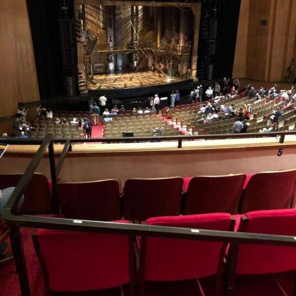 Keller Auditorium, secção: 1st Balcony B, fila: A, lugar: 3