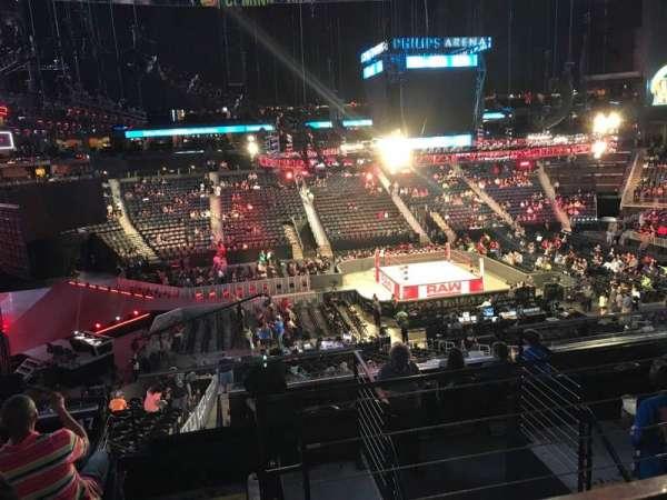 State Farm Arena, secção: 213, fila: F, lugar: 3