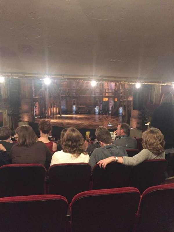 CIBC Theatre, secção: Directors Circle, fila: E, lugar: 238