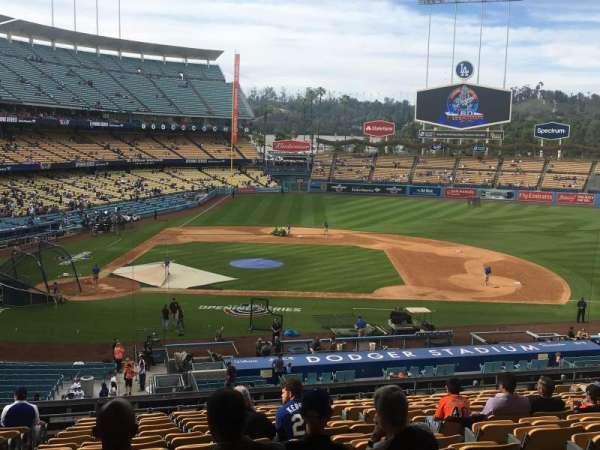 Dodger Stadium, secção: 128LG