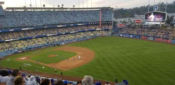 Dodger Stadium, secção: 36RS, fila: T, lugar: 20