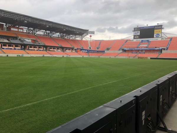 BBVA Compass Stadium, secção: Field