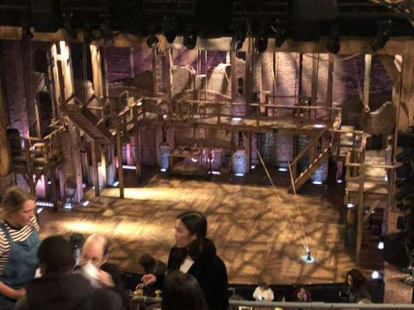 Richard Rodgers Theatre, secção: Rear Mezzanine C, fila: E, lugar: 112