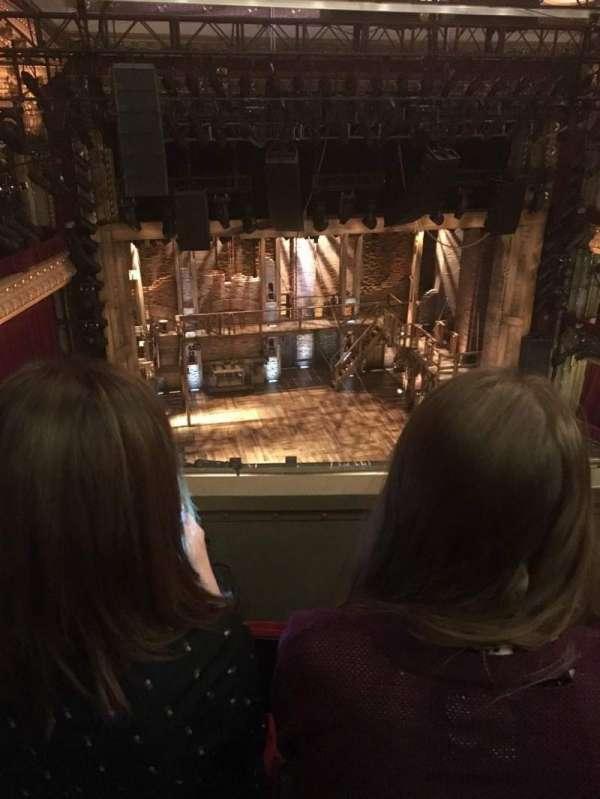 CIBC Theatre, secção: Balcony LC, fila: C, lugar: 419