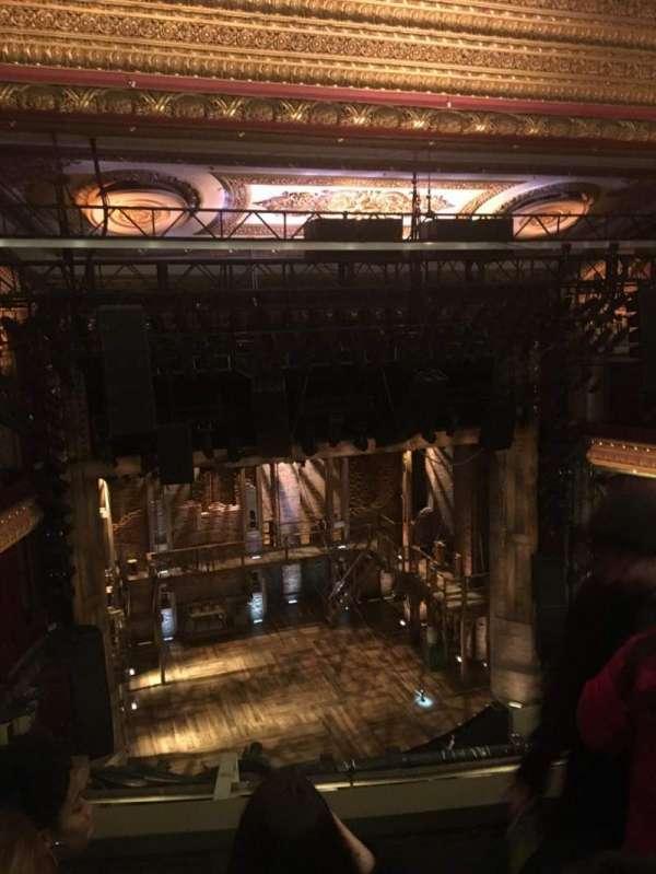 CIBC Theatre, secção: BALCONY LC, fila: C, lugar: 421