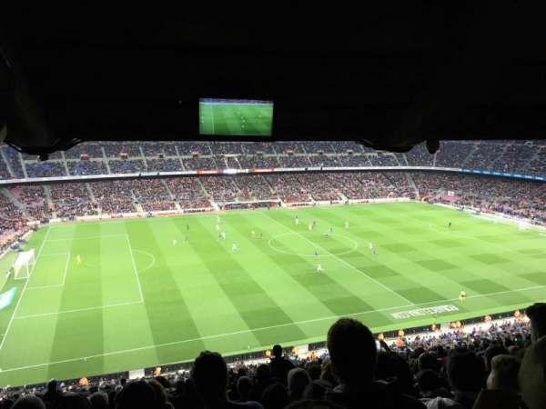 Camp Nou, secção: 331, fila: 35, lugar: 18