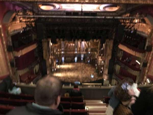 CIBC Theatre, secção: Balcony LC, fila: M, lugar: 413