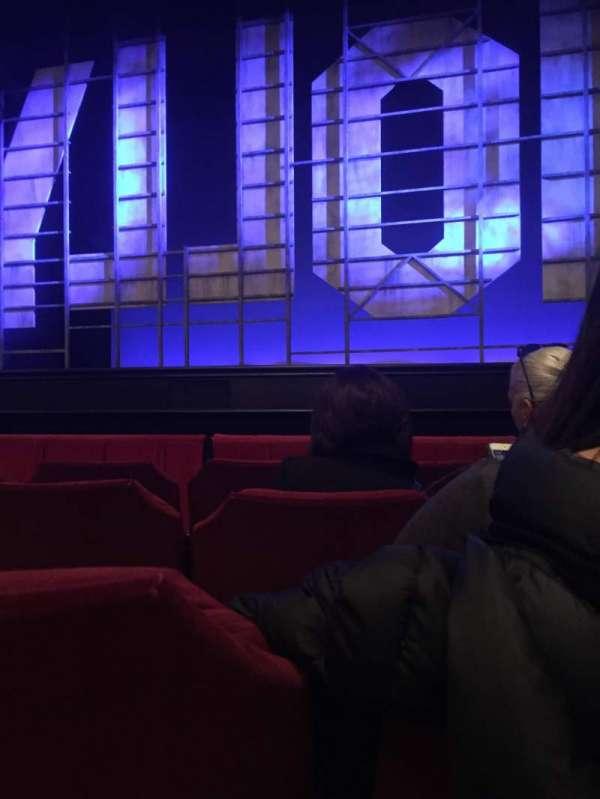 James M. Nederlander Theatre, secção: Orchestra C, fila: D, lugar: 114