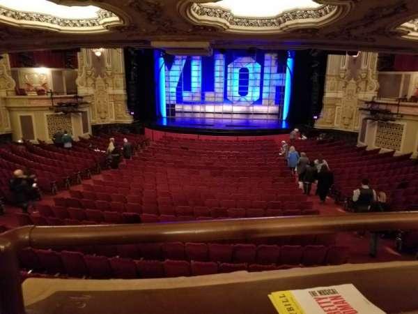James M. Nederlander Theatre, secção: Dress Circle C, fila: A, lugar: 210
