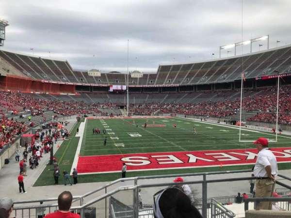 Ohio Stadium, secção: 35a, fila: 7, lugar: 2