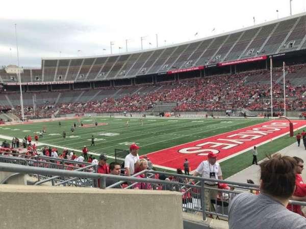 Ohio Stadium, secção: 29a, fila: 5, lugar: 2