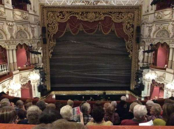 Lyceum Theatre (Sheffield), secção: Circle, fila: G, lugar: 16