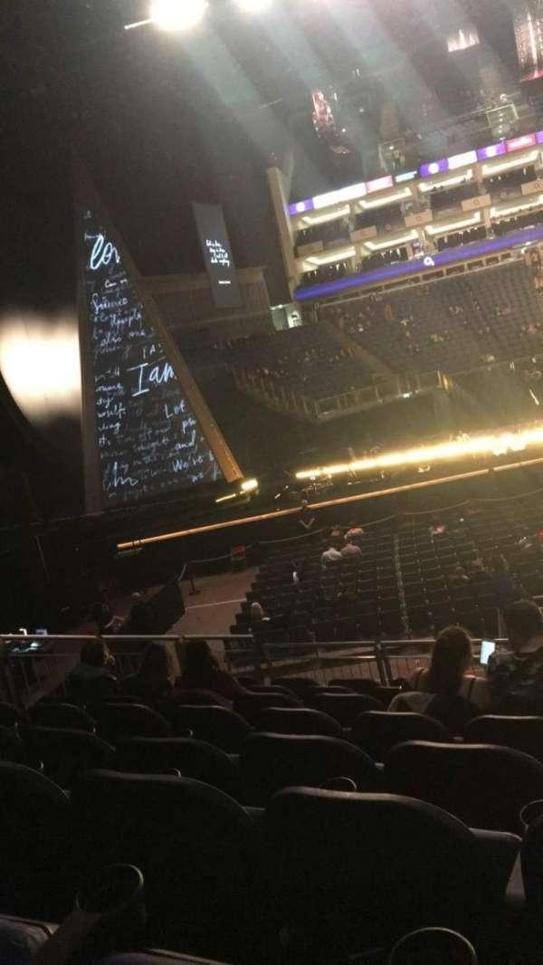 The O2 Arena, secção: 101, fila: Q, lugar: 21