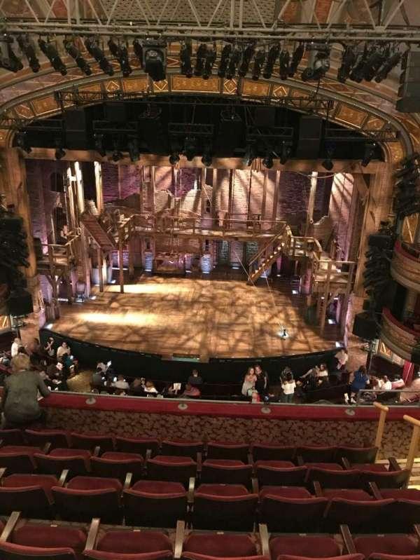 Richard Rodgers Theatre, secção: Front Mezzanine C, fila: E, lugar: 105