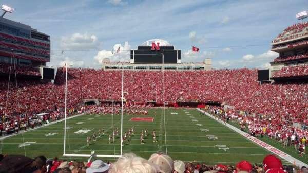 Memorial Stadium (Lincoln), secção: 16, fila: 32, lugar: 7