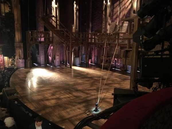 Richard Rodgers Theatre, secção: Box C, fila: 1, lugar: 2