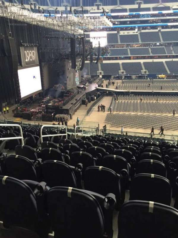 AT&T Stadium, secção: C237, fila: 11, lugar: 17
