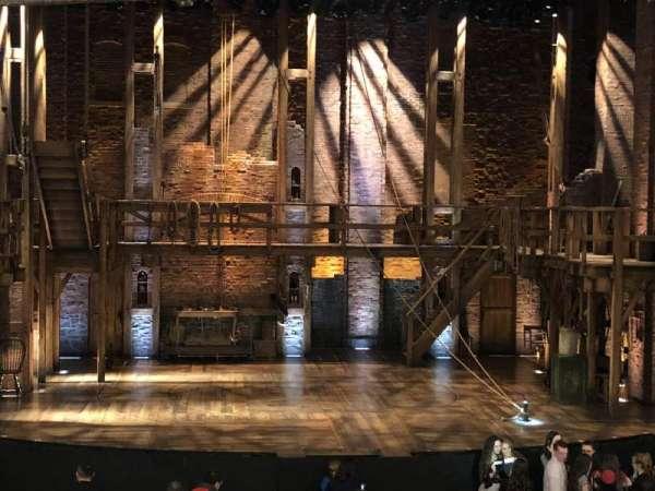 CIBC Theatre, secção: Dress Circle C, fila: A, lugar: 202