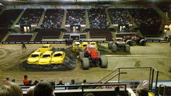 Cross Insurance Arena, secção: V, fila: 15, lugar: 3