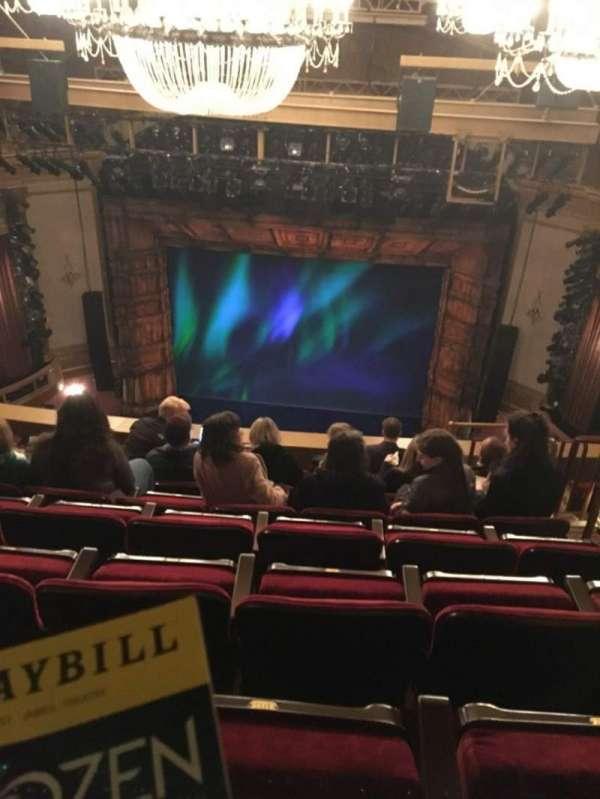 St. James Theatre, secção: Balcony C, fila: H, lugar: 103