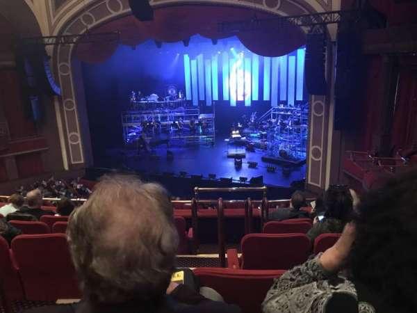 Broadway Theatre - 53rd Street, secção: Right Mezzanine, fila: F, lugar: 3