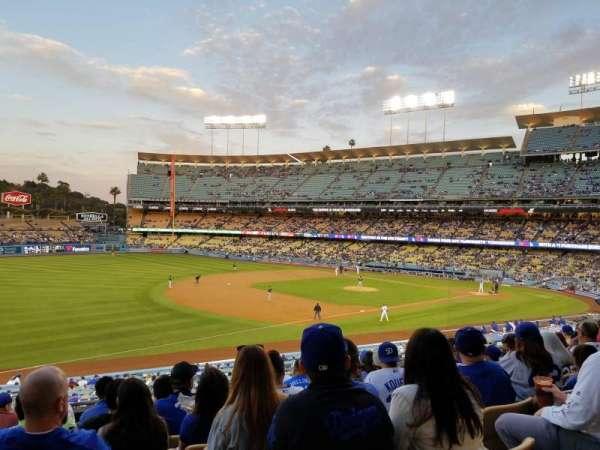Dodger Stadium, secção: 149LG, fila: J, lugar: 4