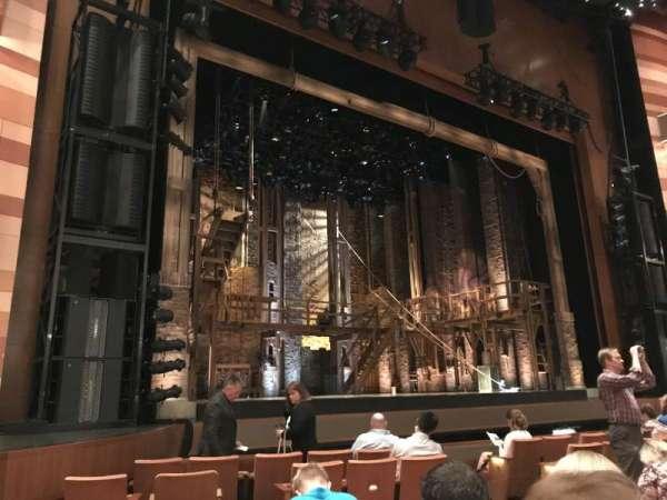 Eccles Theater, secção: Orch Left, fila: G, lugar: 118
