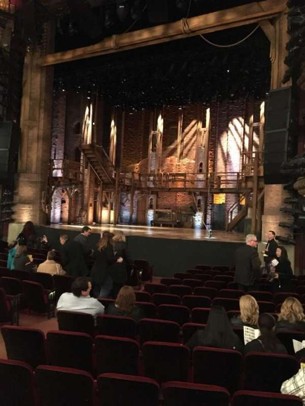 CIBC Theatre, secção: Orchestra R, fila: Q, lugar: 12