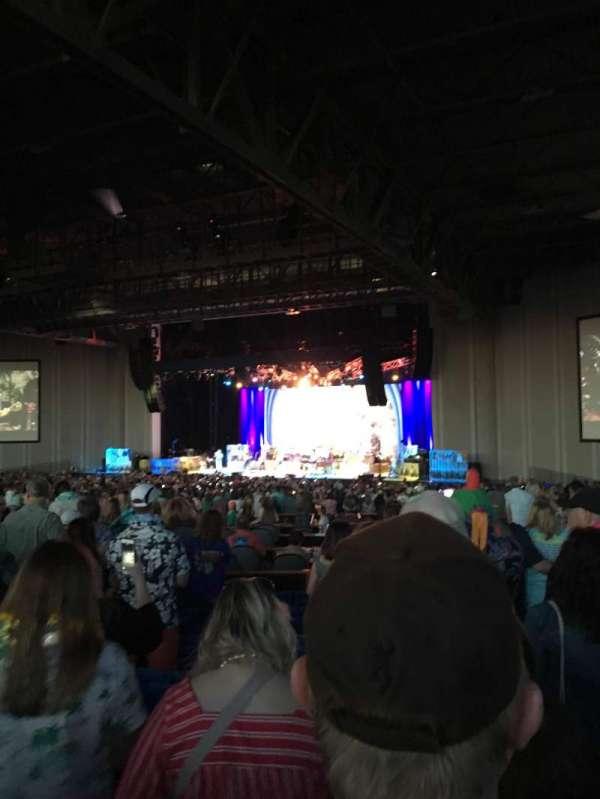 PNC Music Pavilion, secção: 5, fila: R, lugar: 29