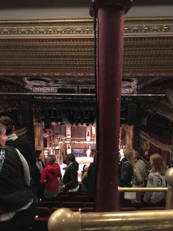 CIBC Theatre, secção: Balcony RC, fila: J, lugar: 408