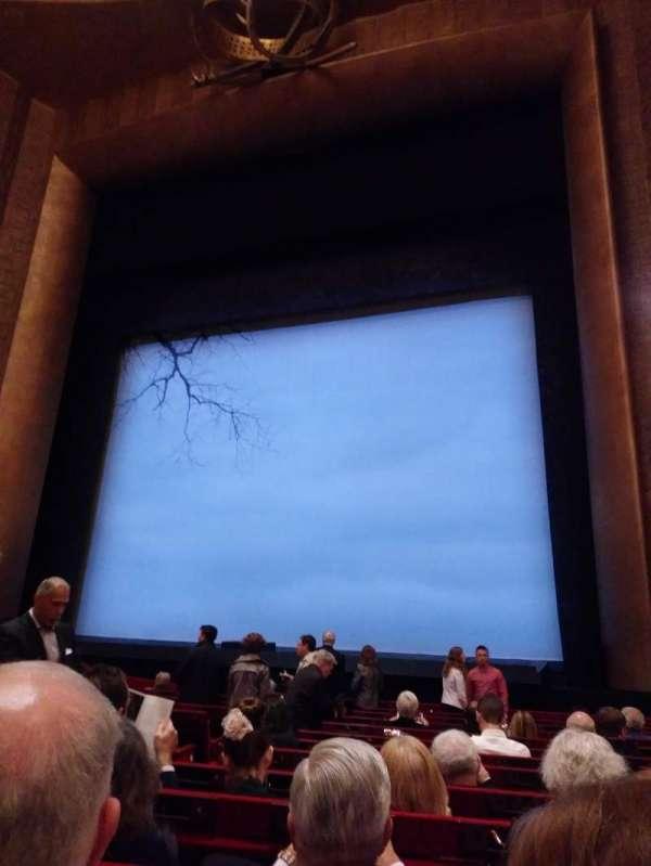 Metropolitan Opera House - Lincoln Center, secção: Orchestra, fila: L, lugar: 8
