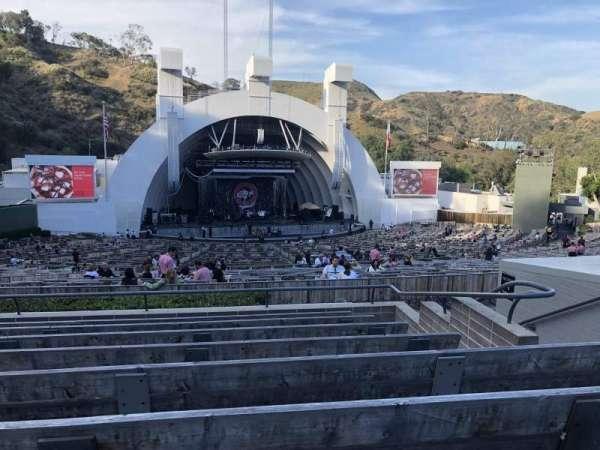 Hollywood Bowl, secção: J2, fila: 8, lugar: 11