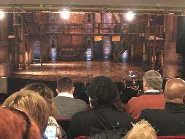 CIBC Theatre, secção: Dress Circle C, fila: E, lugar: 208
