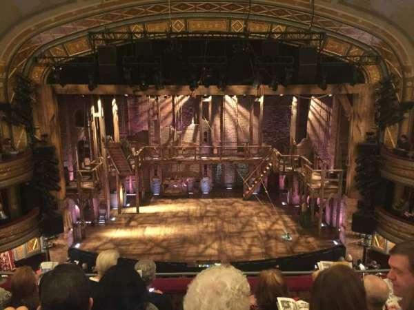 Richard Rodgers Theatre, secção: Front Mezzanine C, fila: E, lugar: 108
